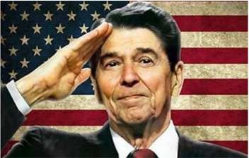 Reagan salute