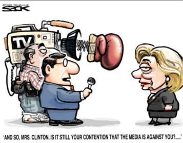 HRC and Media