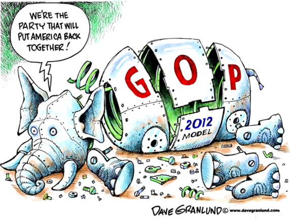 GOP Falling apart
