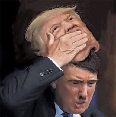 Drumpf as Hitler