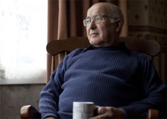 Older man with health problem