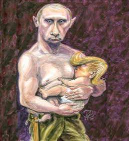 Vlad breastfeeding Drumpf