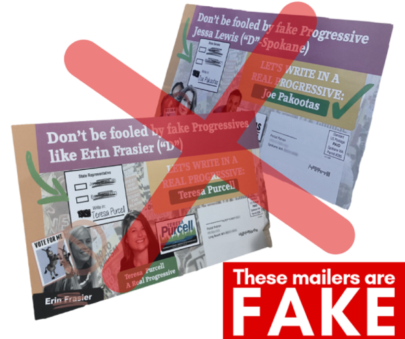fake mailers